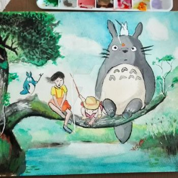 My Neighbour Totoro by Penholderart