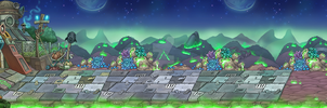 Game bg for Robot game by Pykodelbi