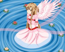 .: SAO : The Angel princess Asuna :. by Sincity2100