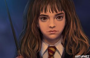 Hermione - Harry Potter by W-E-Z
