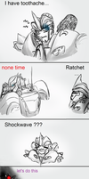 Knockout  Toothache Problem by XD-or-what