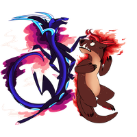 Caelum and Inanis by Ehlinn