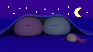 Dango Bedtime by telimonster