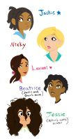 Girls rule! by ActionKiddy