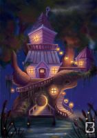 Grandmas Tree House by LindseyBell