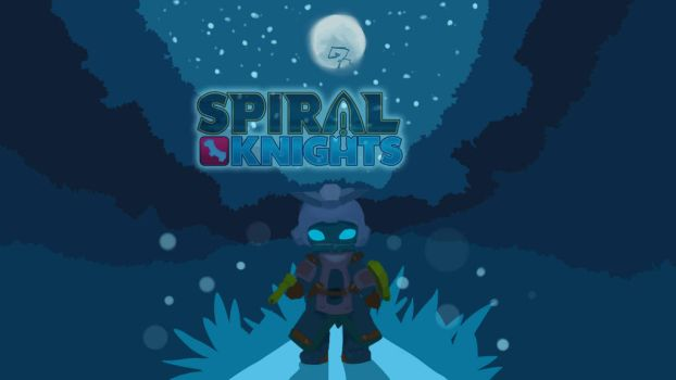 Spiral Knights Title Card by CoroQuetz