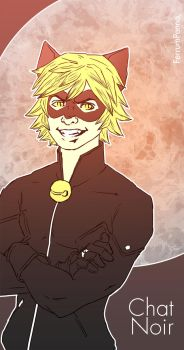Chat Noir by FerrumPenna