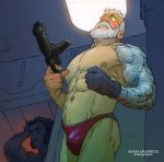 Cable and Wolvie by GraphiteStudio