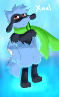 [AT] Xael the Riolu! by NeiruLysor36