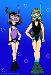 DP: Sam and Jazz's Scuba Diving Time by VoyagerHawk87