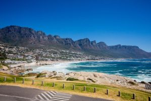 one of the warm days - campsbay by FinnFilms