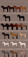 Ballovali Colour Chart by Ehetere