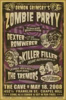 Zombie Party by deathray66
