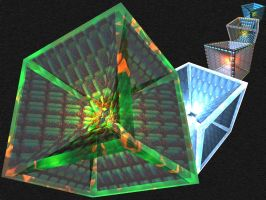 Quadrilateralistic 3D DockIcon by taketo