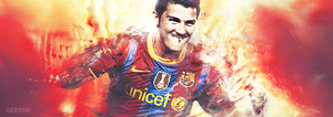David Villa by GersonDesign