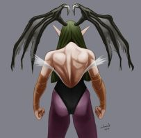 Morrigan by DandDurand
