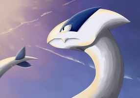.:Pkmn:. Beast of the sea by Fire-For-Battle