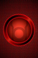 Red Lantern Background by KalEl7