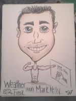 Weather Freak Mark Caricature by VaMpIr3-KiSs3s