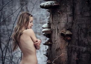 conversation with an old tree by baravavrova