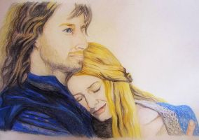 After the war,love is always there EowynandFaramir by dasimartinez