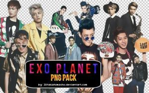 EXO's PNG PACK ~ THE CELEBRITY SCANS by IliTakishimaCho