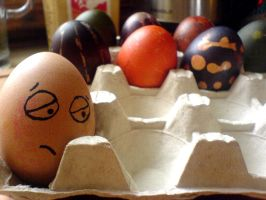 Happy Easter emo egg by ironizujacy
