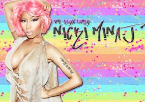 Nicki Minaj wallpaper by one-directioner