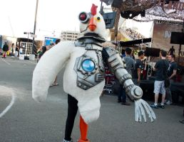 Robot Chicken by EriTesPhoto