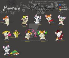 Hamtaro Tales -Character Board by JB-Pawstep