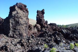 Cinder Cone Fragments by morbiusx33