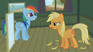 AppleJack Gets A Mane Cut by BronyRD