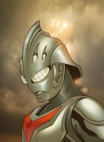 Ultraman Nexus Colored by ragelion