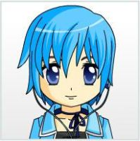 Aqua Sample as an Anime from Anime Face Maker 2 by AeroxVentusxYuni