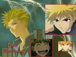 Get Backers Ginji Wallpaper by silverjade2003