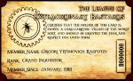 LXB Membership Card by TormentedArtifacts