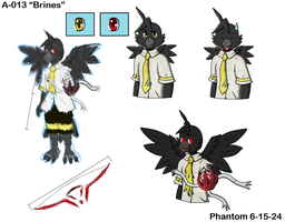 Magpie/Hell Raven (Ref) by phantomcub