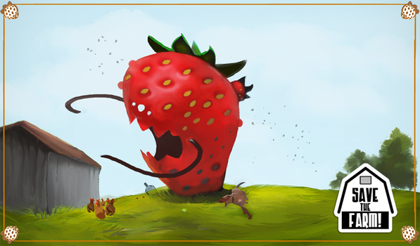 Angry Giant Radioactive Berries by garyjsmith