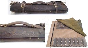 Custom Leonhardt Knife Roll by OfTheGodsBlood