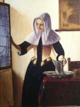 Vermeer Master Copy by Shiloh-Tovah