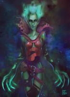 Death Prophet DOTA 2 by AlexCarroty