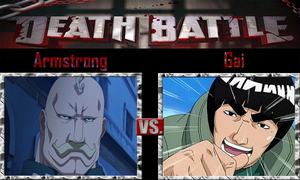 Armstrong vs Gai by SonicPal