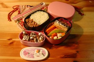 Bento Toffy's Pork by RiYuPai