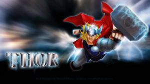 Thor 1080hd Wallpaper by MrWills