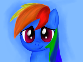 Rainbow Dash by HeavyMetalBronyYeah