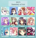 2014 Art Summary by Rurutia8