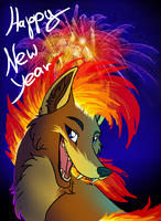 Happy New Year Everyone! by StanHoneyThief