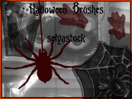Halloween Brushes 2 by seiyastock