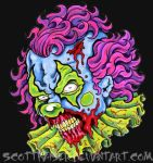Undead Clown by scottkaiser