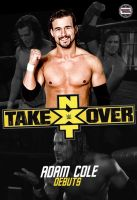 Adam Cole NXT Debut by AY by AyBenoit12